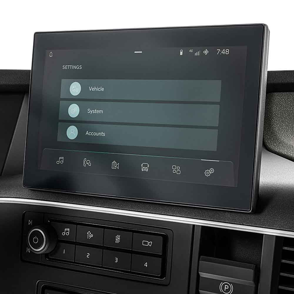 The new, intuitive side display